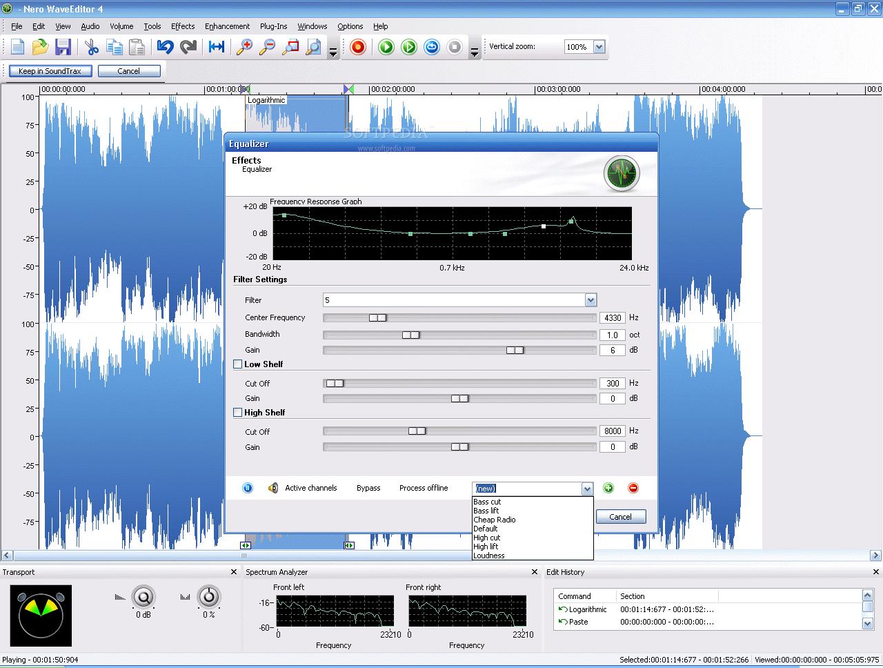 Nero Wave Editor
